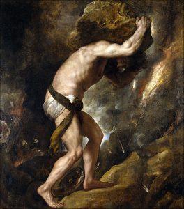 เทพซิซิฟัส Sisyphus
