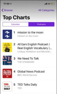 mission to the moon podcast